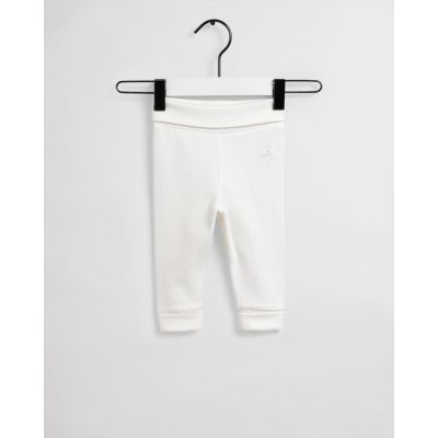 Baby Logo Organic Cotton Pants