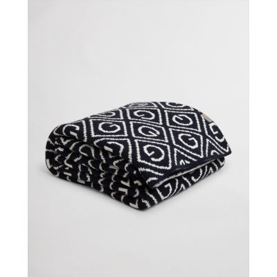 ALL OVER G KNIT THROW