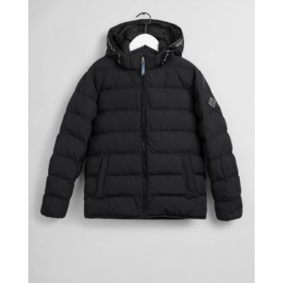 Teen Boys Logo Stripe Puffer Jacket