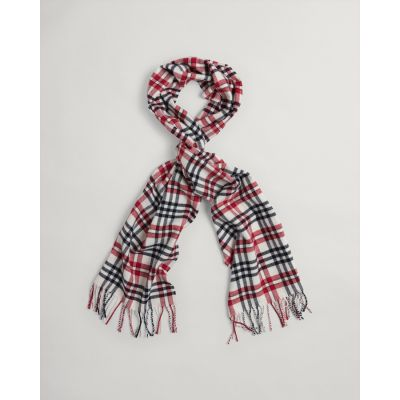 D1. CHECK TWILL SCARF