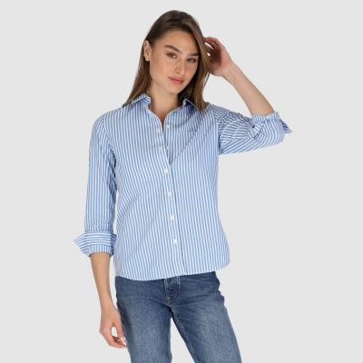 THE BROADCLOTH STRIPED SHIRT