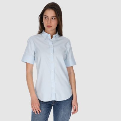 STRETCH OXFORD SOLID SS SHIRT